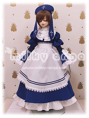 60cmドール用ドレス クラシックスタイルメイド リタ
